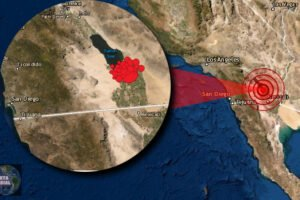 Fuerte sismo sacude California; antes hubo un enjambre sísmico de 23 temblores en menos de 45 minutos..
