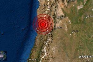 Fuerte y ruidoso sismo sacude la zona central de Chile