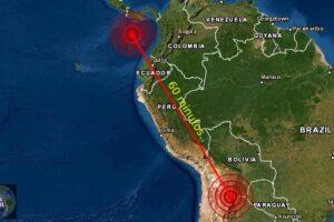 Fuertes sismos se registran en Panamá y Bolivia en lapso de 60 minutos