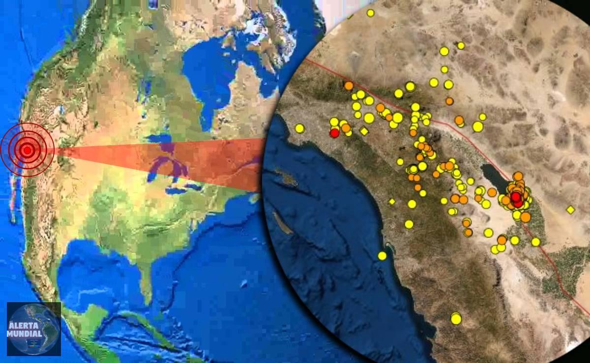 Más de 600 sismos han sacudido la frontera entre California y México desde el sábado