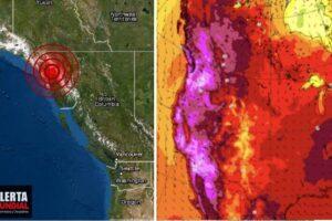 Se registra 'raro sismo de hielo' debido a la ola de calor extremo en Alaska y Canadá