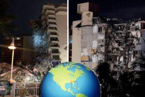 Se teme que muchos muertos tras el derrumbe de un edificio en Miami