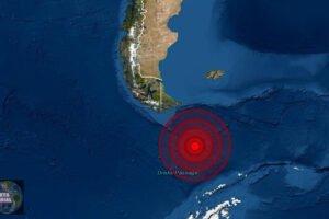 Sismo de magnitud 5.4 sacude el sur de Argentina