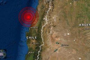 Sismo de magnitud 5.4 se registra en Maule, Chile