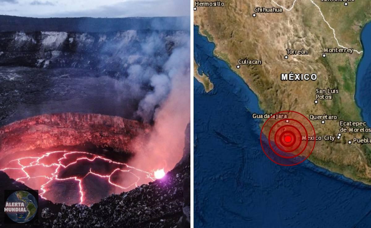 Un enjambre sísmico esta golpeando Michoacán y temen el surgimiento de un nuevo volcán
