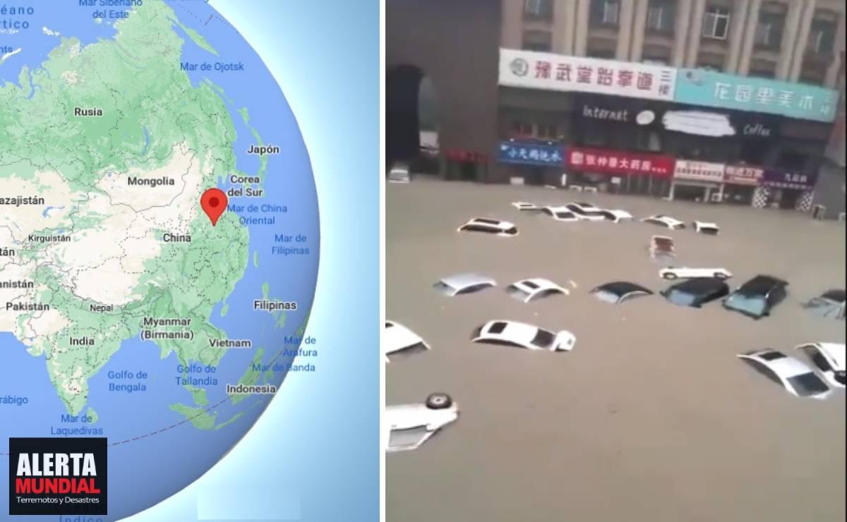 China lluvias intensas provocan inundaciones mortales en Zhengzhou (VIDEOS)