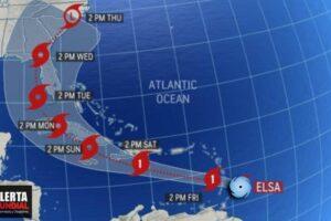Elsa se convirtió en el primer huracán y se estrelló contra Barbados en su camino hacia el Caribe