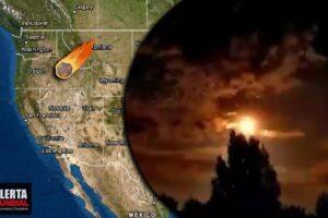 Enorme bola de fuego deja inusual espectáculo en varios estados de EEUU (VIDEOS)