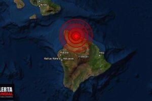 Fuerte sismo sacude Hawai de los Estados Unidos