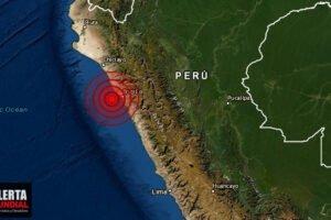 Fuerte sismo sacude Trujillo del Perú informa IGP