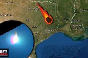 Gigante meteorito explota con fuerte ruido sobre Texas (VIDEOS)