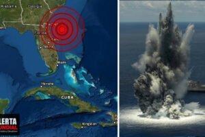 La Marina de EE.UU crea un fuerte sismo en la costa de Florida