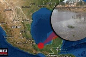 México río Coatzacoalcos retrocede mas de 20 metros en Veracruz (VIDEO)