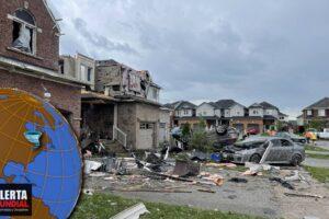 Tornado causa grandes daños en el noreste de Ontario (VIDEOS)