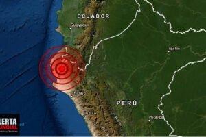 Un potente sismos estremece Piura del Perú tan lejos como Ecuador