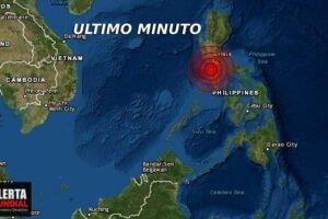 VIDEOS dos terremotos sacude las costas de Filipinas hace minutos..